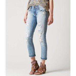 BKE Denim Stella Distressed Jeans